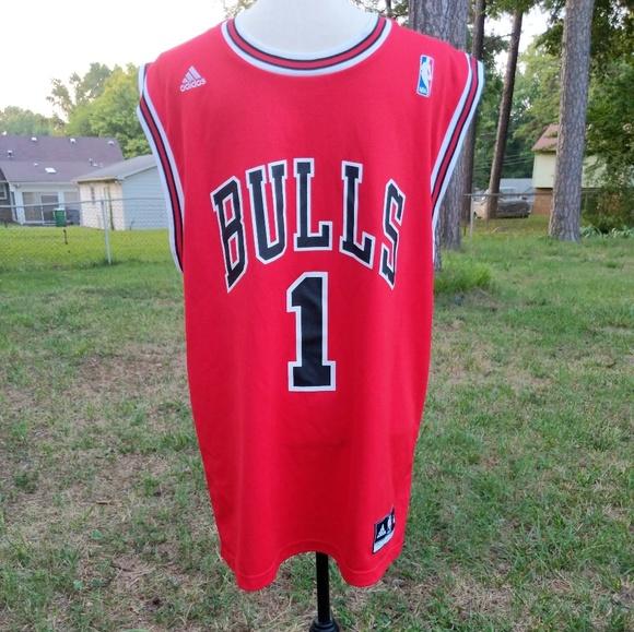 Adidas NBA Chicago Bulls Derrick Rose #1 Jersey M
